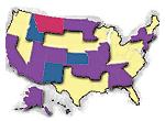 Estados con elecciones el Supermartes