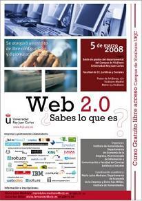 Seminario: Web 2.0. ¿sabes lo que es?