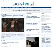 Maulee.cl, el diario GLocal del Maule, estrena portada