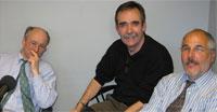 Bill Densmore, Chris Peck y Leonard Witt