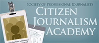 Talleres de periodismo ciudadano de la Society of Professional Journalists