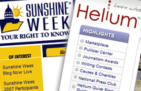 Sunshine Week y Helium