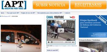 ArgentinaParaTodos.com nació en Facebook y ahora se convierte en un diario hecho por periodistas ciudadanos