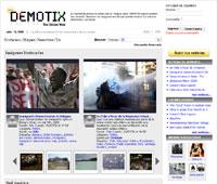 Demotix, una agencia de noticias ciudadanas que defiende la libertad de expresión