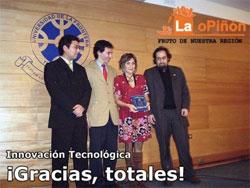 El periódico ciudadano La oPiñón premiado por el Colegio de Periodistas