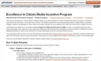 AllVoices.com lanza un programa de incentivos para periodistas ciudadanos