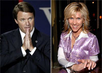 John Edwards y Rielle Hunter