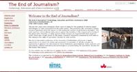 El fin del periodismo, tema de un congreso en la Universidad de Bedfordshire