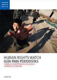 Guía para periodistas sobre la cobertura de los Juegos de Pekín