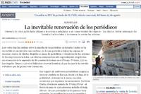 El periodismo ciudadano como renovación de la prensa