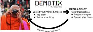 Demotix: Un intermediario entre periodistas ciudadanos y medios de comunicación