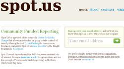 """""""Spot us"""": Un site de periodismo por encargo financiado por los ciudadanos"""