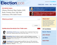 Twitter Election 2008