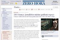 El diario Zero Hora abre una sección de periodismo ciudadano para niños