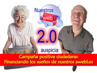 La red de AWEBLOS del Rancahuaso continua acercando a los mayores al periodismo ciudadano y la Web 2.0