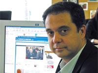 Enric Sierra: «La Vanguardia ofrecerá toda su hemeroteca de forma gratuita»