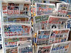 Las ventas de prensa impresa en España descienden a niveles de país subdesarrollado