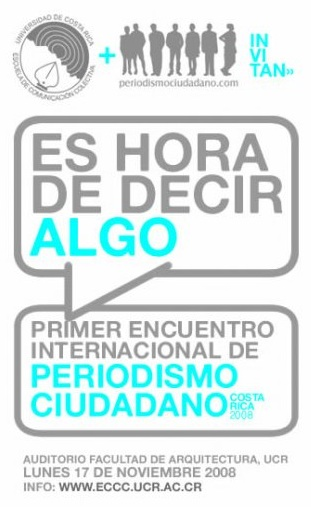 Conclusiones del Primer Encuentro Internacional de Periodismo Ciudadano en Costa Rica