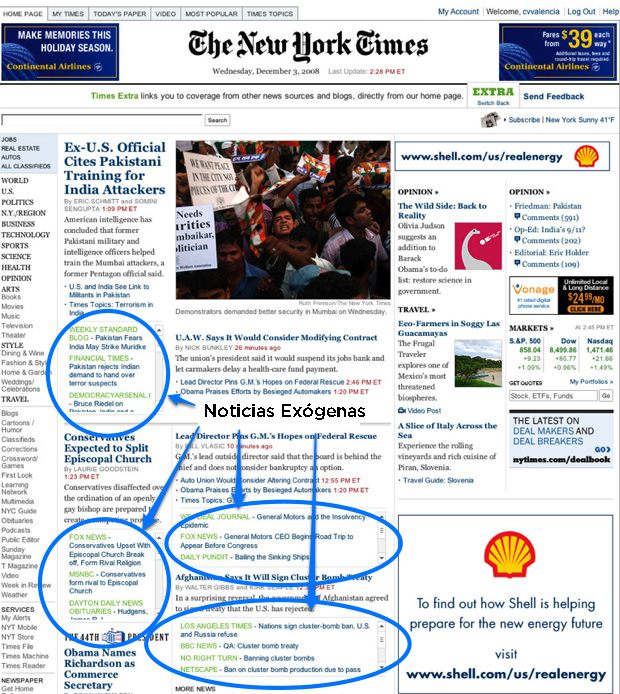 New York Times + Blogrunner = guiño al futuro