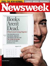 Kindle en Newsweek