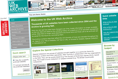 UK Web Archive