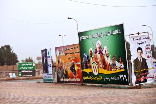 Campaña electoral en Irak