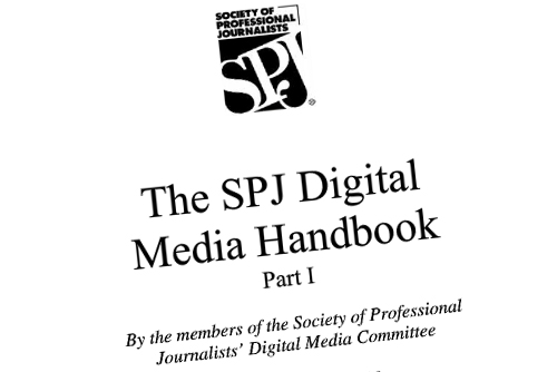 Digital Media Handbook de la SPJ