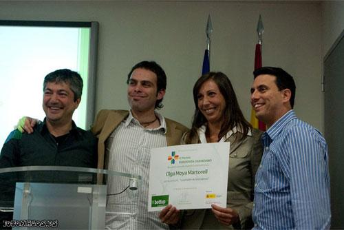 Entrega del II Premio Periodista Ciudadano de Bottup