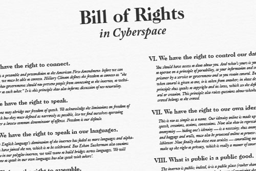 Bill of Rights in Cyberspace
