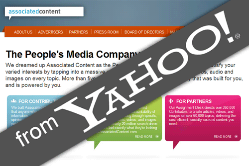 Associated Content from Yahoo