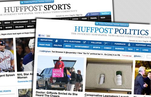 HuffPost Sports y HuffPost Politics