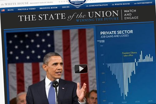 The State of the Union en WhiteHouse.gov|