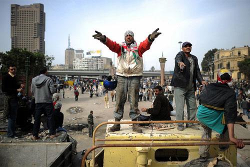 Demand Al Jazeera|Protestas en El Cairo|