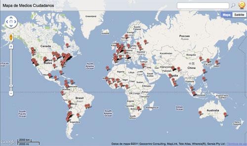 Ejemplo de formulario con Google Forms|Twitter Widget|Many Eyes|Formulario creado con Google Forms|Trendistic|Mapa de Medios Ciudadanos generado con Batchgeo|Dipity|Gráfico generado con Wordle|Gráfico generado con Wordle|Mapa de Medios Ciudadanos