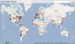 Mapa de Medios Ciudadanos generado con Batchgeo