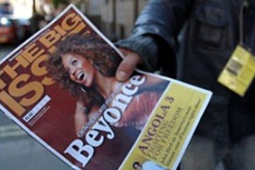 Vendedor de The Big Issue|