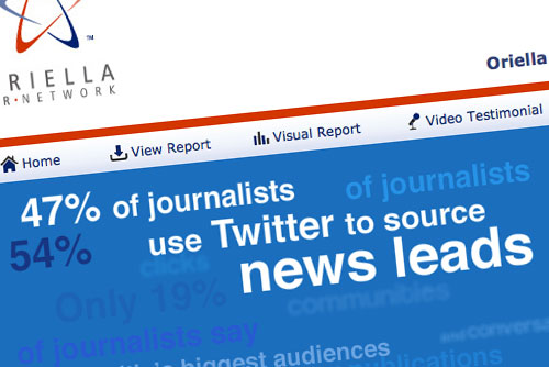 Tabla de datos sobre fuentes de noticias|The state of journalism in 2011|