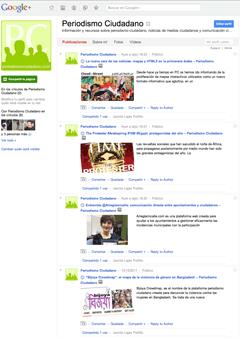PC en Google+