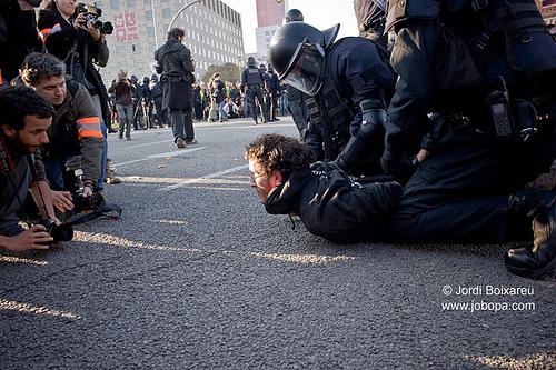 Policia Ley mordaza|