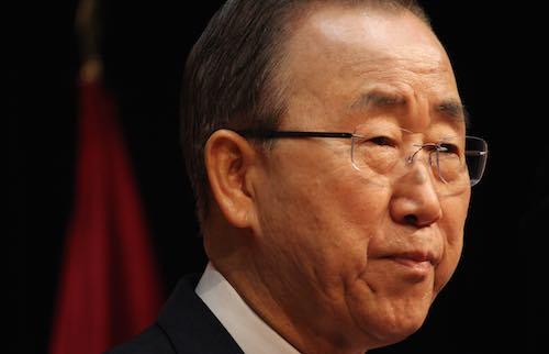 """Ban Ki- Moon:  """"Las Naciones Unidas necesitan una ciudadanía global"""""""