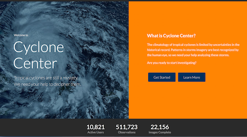 Cyclone Center: ¿Puede la #Cienciaciudadana predecir el comportamiento de los ciclones?