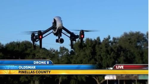WFLA-TV contará con el primer #drone destinado a cubrir información