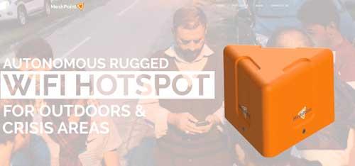 MeshPoint o cómo conectarse a Internet en los campos de refugiados sirios