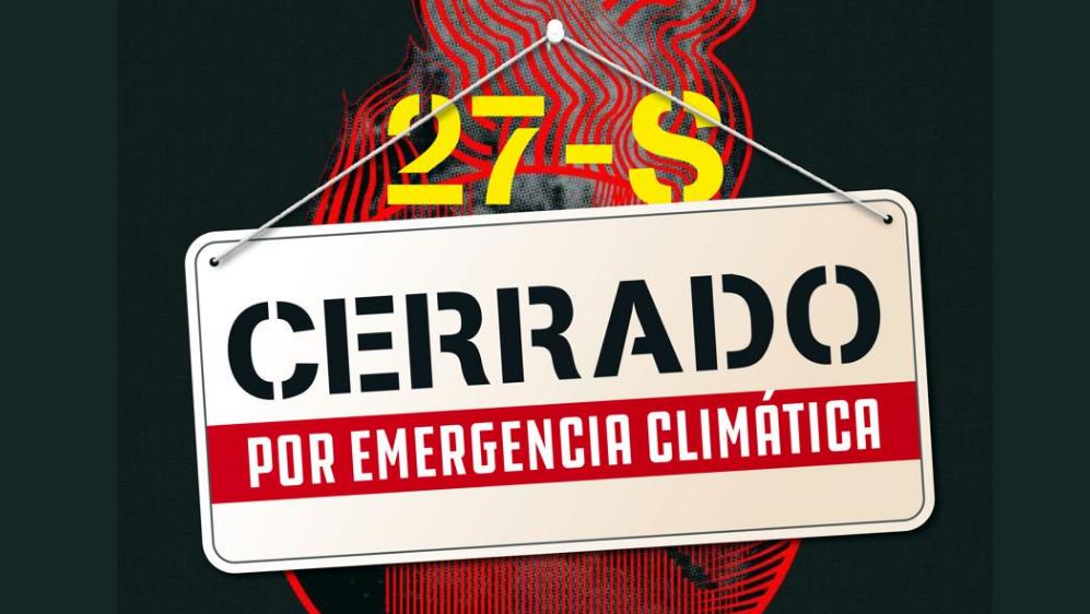 Todo lo que debes saber sobre la Huelga Mundial Por El Clima en redes sociales  #Climatestrike #27S
