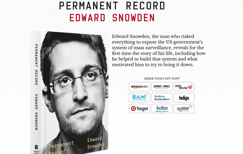 #Vigilanciapermanente: las memorias que nos recuerdan el poder transformador de un libro #Snowden