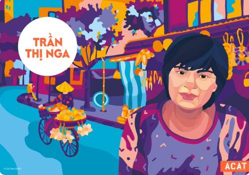 La bloggera vietnamita Tran Thi Nga premiada por su defensa de los derechos humanos en Vietnam