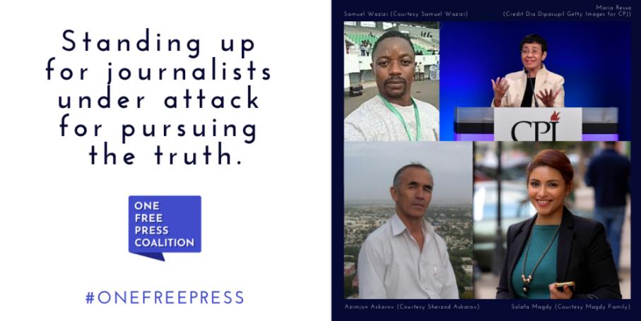 Maria Ressa encabeza la lista de julio de los 10 casos más urgentes de libertad de prensa