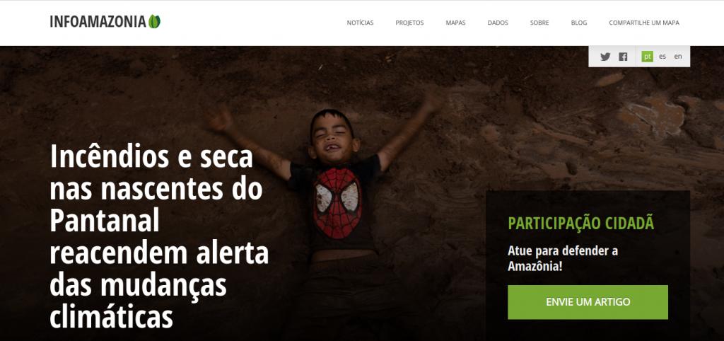 InfoAmazonia: periodismo de datos para proteger la selva amazónica